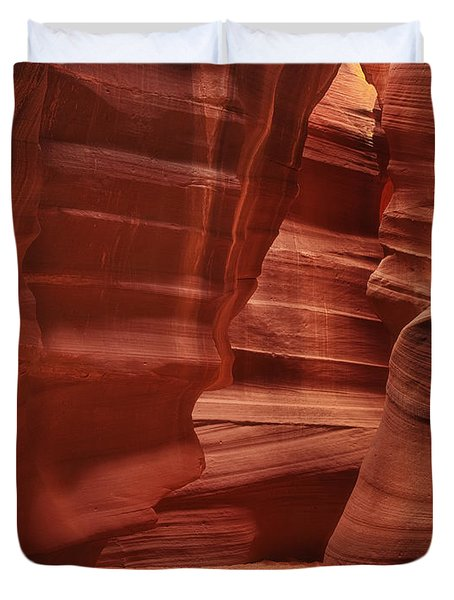 Antelope Slot Canyon Duvet Cover