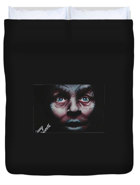 Anthony Hopkins Duvet Cover