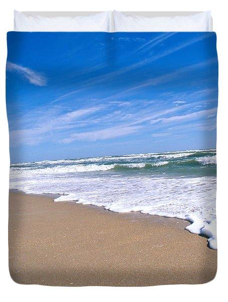 Apollo Beach Duvet Cover by Millard H. Sharp