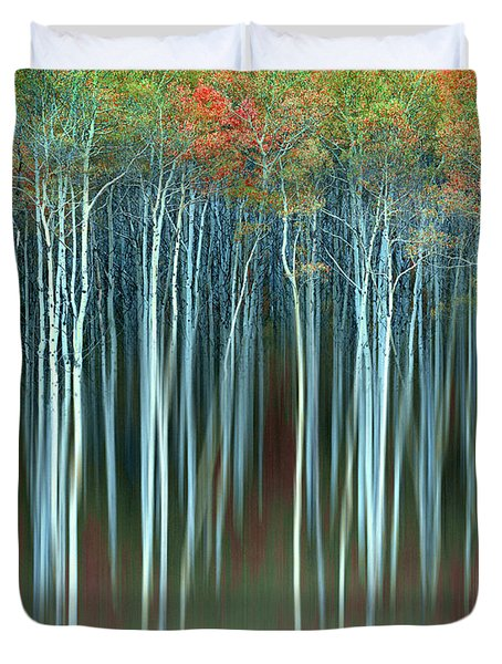 Army Of Trees Duvet Cover