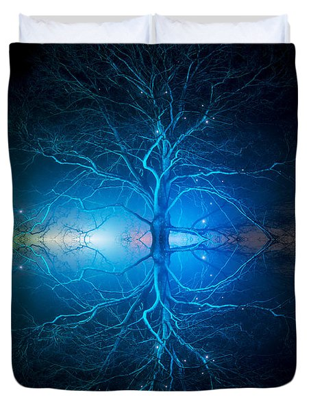 As Above So Below Duvet Cover
