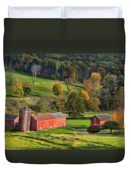 Autumn Light Duvet Cover by Bill Wakeley