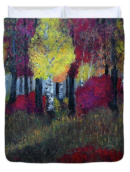 Autumn Peak Duvet Cover