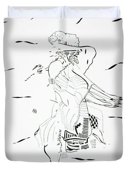 Bakiga Dance - Uganda Duvet Cover