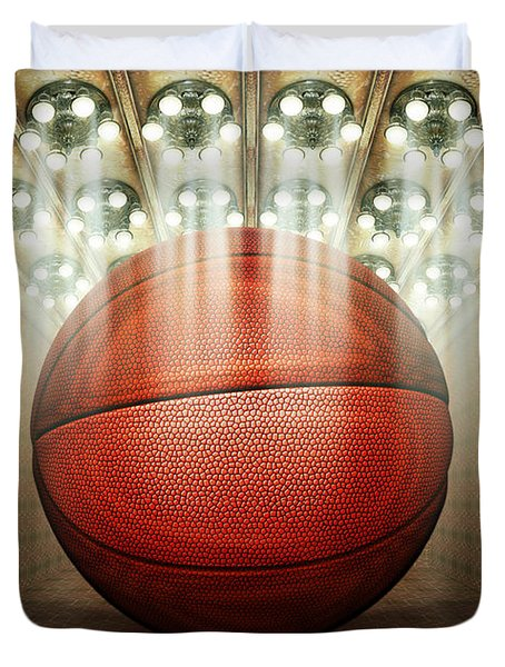 Basketball Museum Duvet Cover