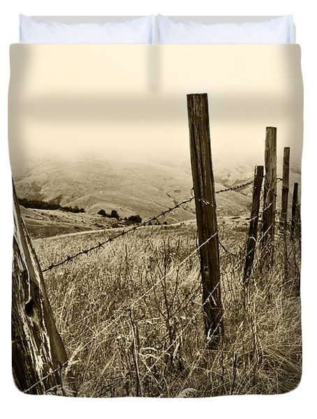 Bay Hill Road Duvet Cover by Roselynne Broussard
