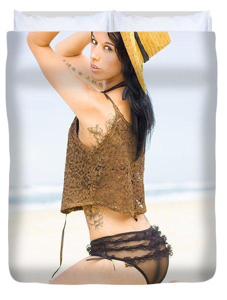Beach Allure Duvet Cover