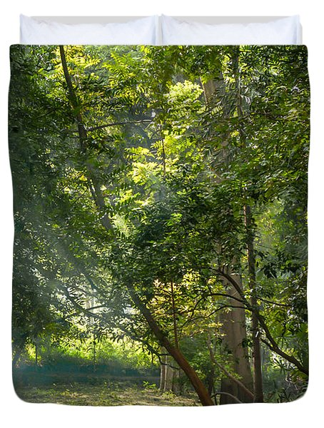 Beautiful Morning Duvet Cover by Kiran Joshi