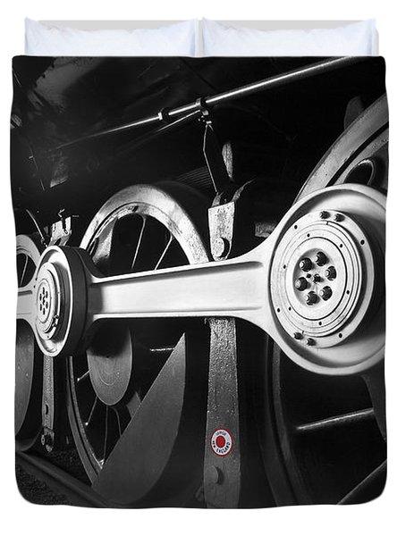 Big Wheels Duvet Cover