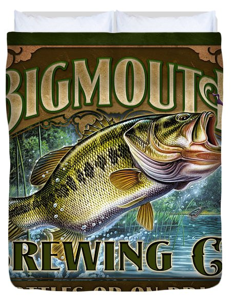 Bigmouth Brewing Duvet Cover by JQ Licensing