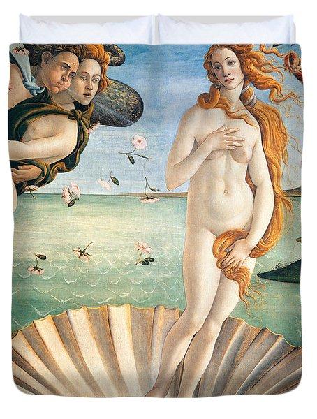 Birth Of Venus Duvet Cover by Sandro Botticelli