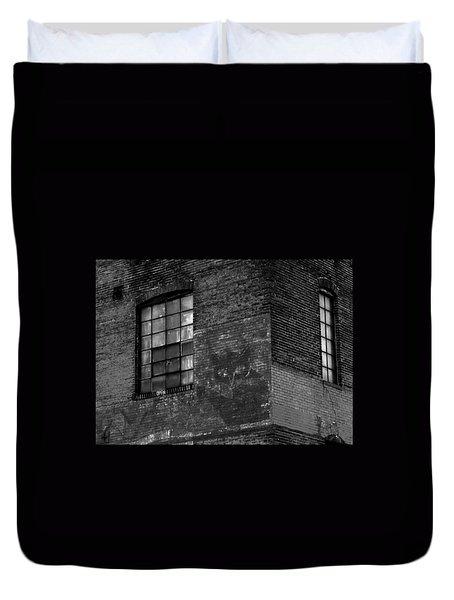 Black Kat Duvet Cover by Robert Geary