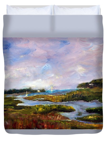 Blackfish Creek  Duvet Cover