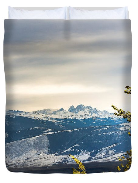 Blacktooth Duvet Cover
