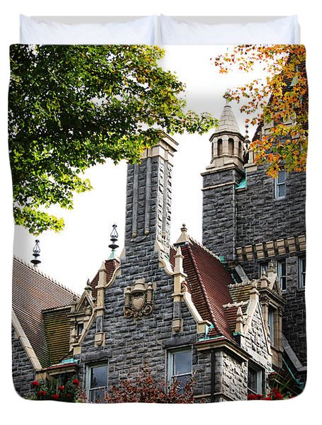 Boldt Castle Duvet Cover by Tony Cooper