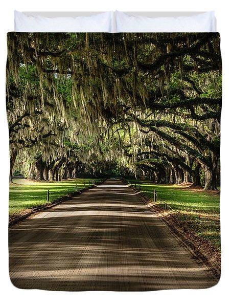 Boone Plantation Road Duvet Cover