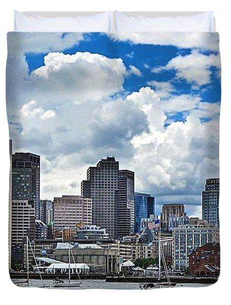 Boston Harbor Duvet Cover
