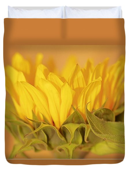 Bright And Sunny Duvet Cover by Deborah  Crew-Johnson