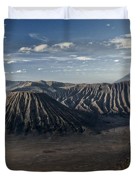 Bromo Mountain Duvet Cover