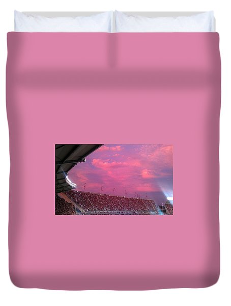 Bryant-denny Painted Sky Duvet Cover