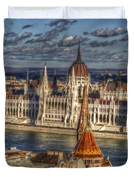 Buda Parliament  Duvet Cover
