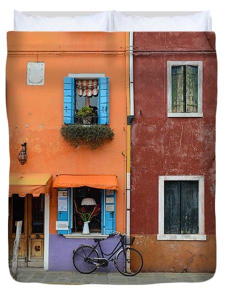 Burano Italy Duvet Cover