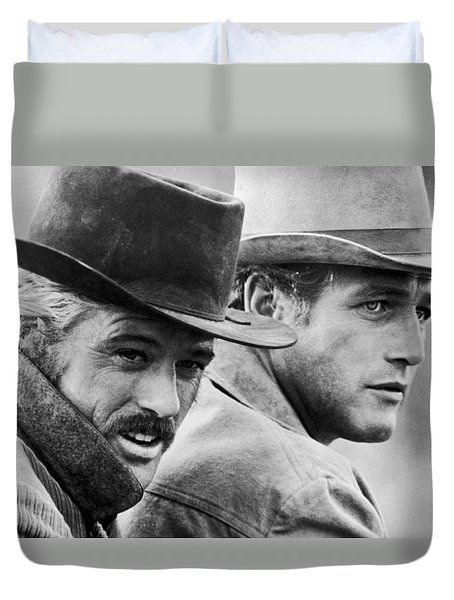 Butch Cassidy And The Sundance Kid Duvet Cover