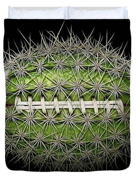 Cactus Football Duvet Cover