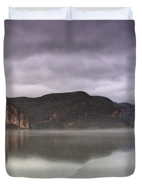Canyon Lake  Duvet Cover by Saija  Lehtonen
