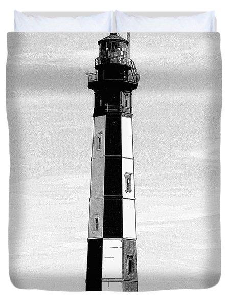Cape Henry Lighthouse  Duvet Cover