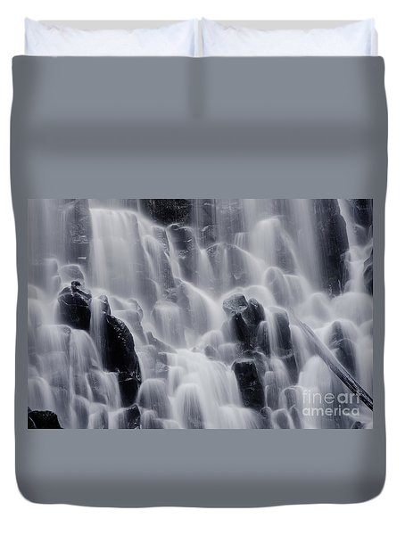The Land Of Tumbling Waters Duvet Cover