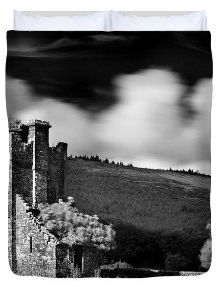 Castle Ruins / Ireland Duvet Cover