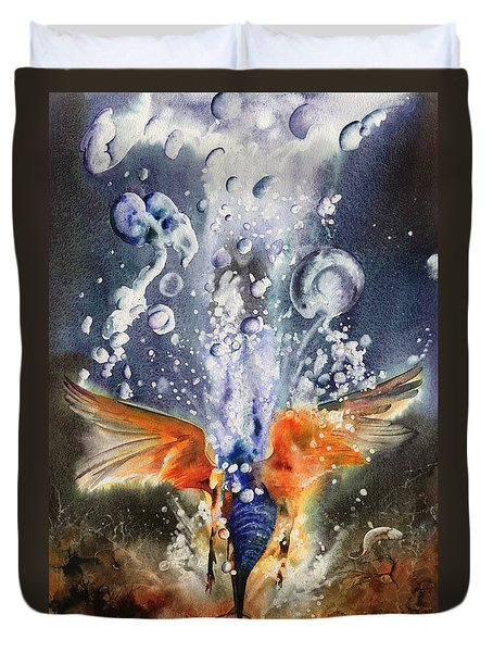 Catch Of The Day Duvet Cover