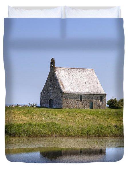 Chapelle Sainte-anne - Brittany Duvet Cover