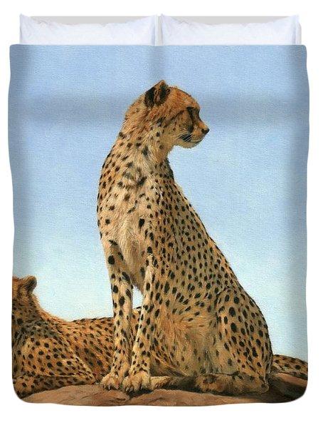 Cheetahs Duvet Cover