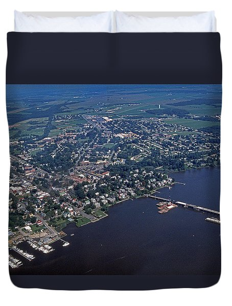Chestertown Maryland Duvet Cover
