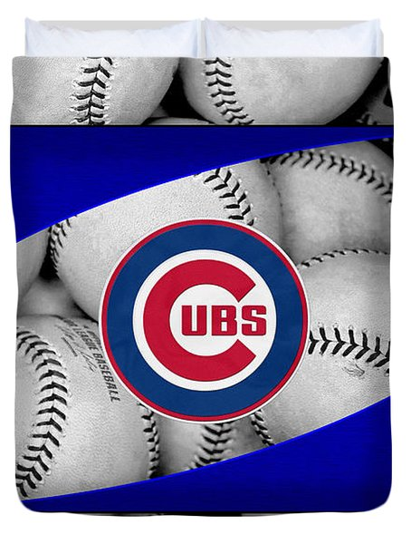 Chicago Cubs Duvet Cover