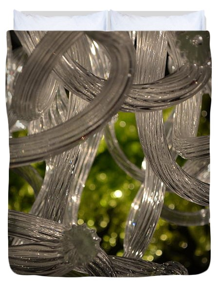 Chihuly-11 Duvet Cover by Dean Ferreira
