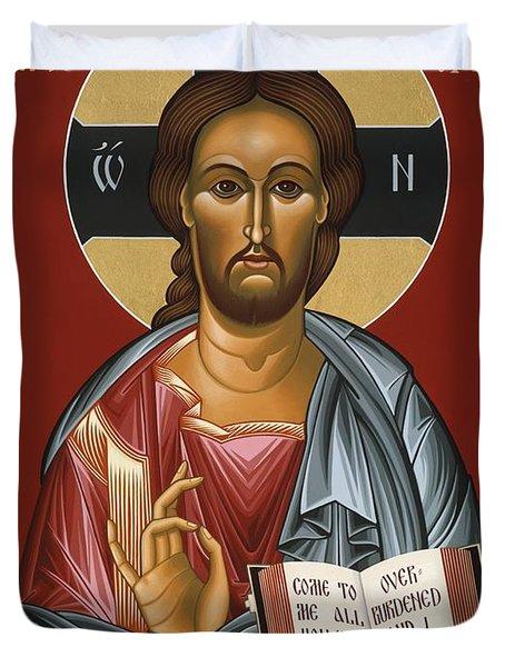 Christ All Merciful 022 Duvet Cover