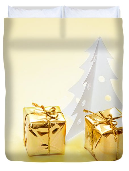 Christmas Decorations Duvet Cover by Michal Bednarek