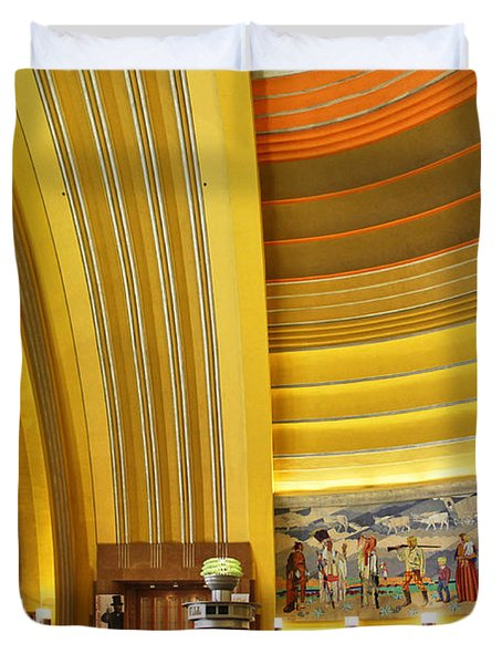 Cincinnati Museum Center At Union Terminal 0018 Duvet Cover
