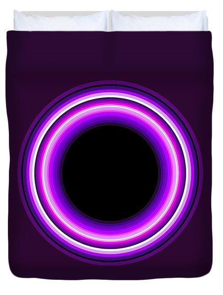 Circle Motif 144 Duvet Cover by John F Metcalf