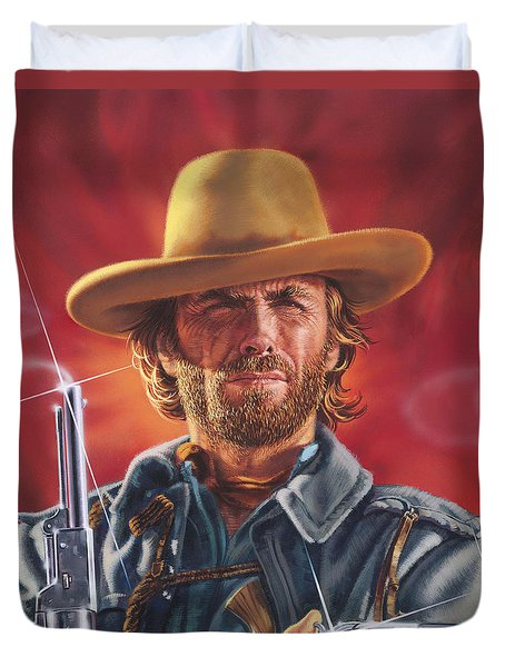 Clint Eastwood Duvet Cover