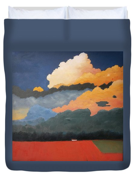 Cloud Rising Duvet Cover by Gary Coleman