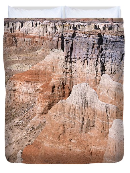 Coal Mine Canyon 1-v Duvet Cover