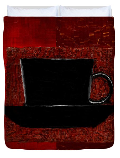 Coffee Passion Duvet Cover by Lourry Legarde