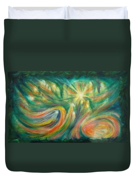 Conception Duvet Cover by Becky Chappell
