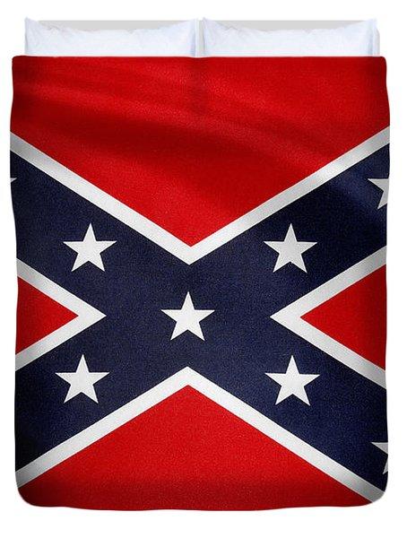 Confederate Flag Duvet Cover