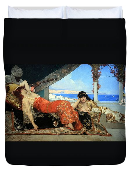 Constant's The Favorite Of The Emir Duvet Cover