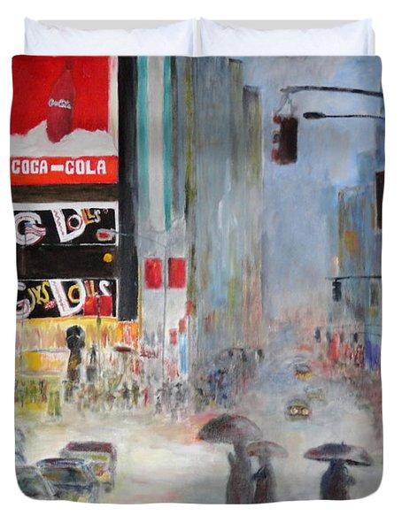 Cool New York Duvet Cover